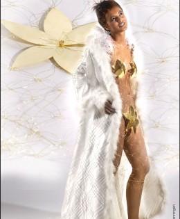 Gouden jurk (18-karaat)